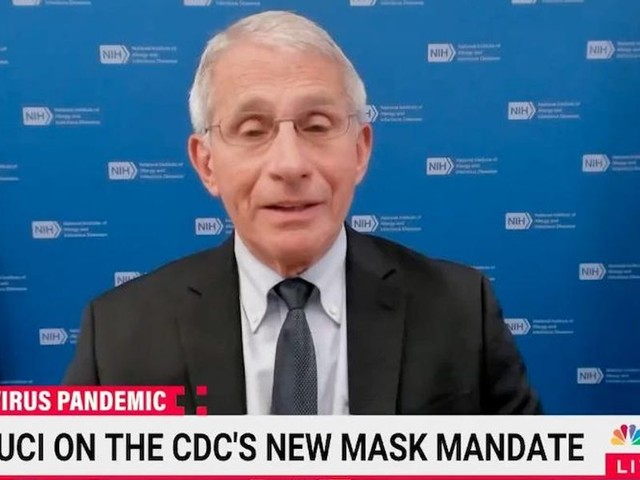 Dr. Fauci claims 'the CDC hasn't really flip-flopped at all' on the mask mandates