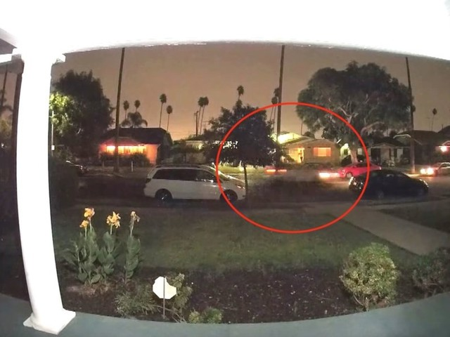 Chilling doorbell video captures woman screaming for help from speeding car in what may be a kidnapping