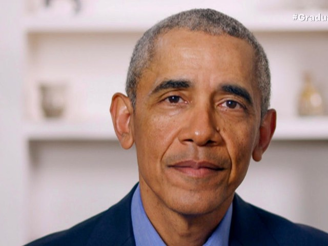 Obama took a dig at Trump's handling of the coronavirus during a virtual commencement address