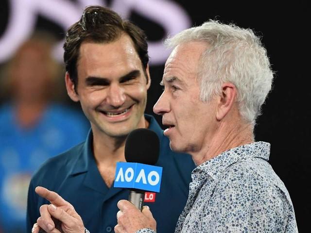 "Roger Federer Brings Out ""Dad Jokes"" After Defeating Marton Fucsovics"
