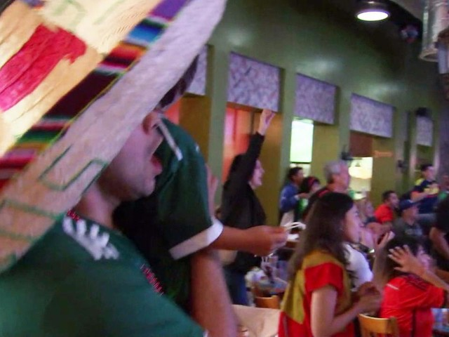 World Cup 2018: Fans ecstatic over Mexico win against Germany at LA watch party