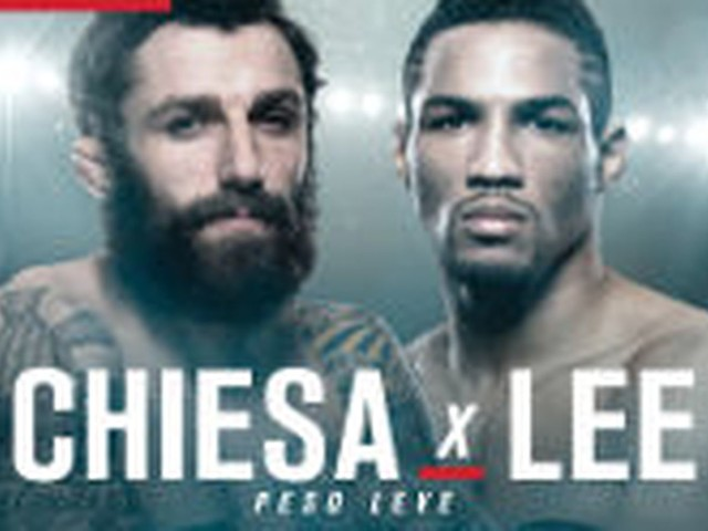UFC Fight Night: Chiesa vs. Lee live results, discussion, play by play