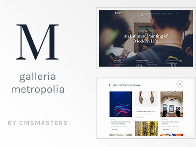 Galleria Metropolia - Art Museum & Exhibition Gallery Theme (Portfolio)
