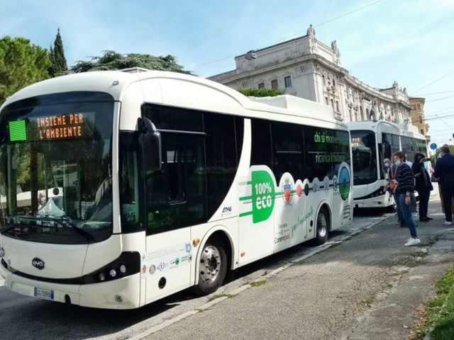 BYD Makes First Ever Delivery of Electric Buses in Ancona, Italy