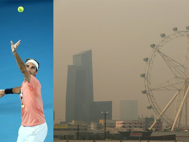 Roger Federer said 'I don't worry too much' about bushfire smoke wafting into the Australian Open, but some are concerned about health risks from polluted air