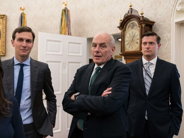 Trump aides were trying to 'move on' from Porter scandal even before shooting offered a 'reprieve'