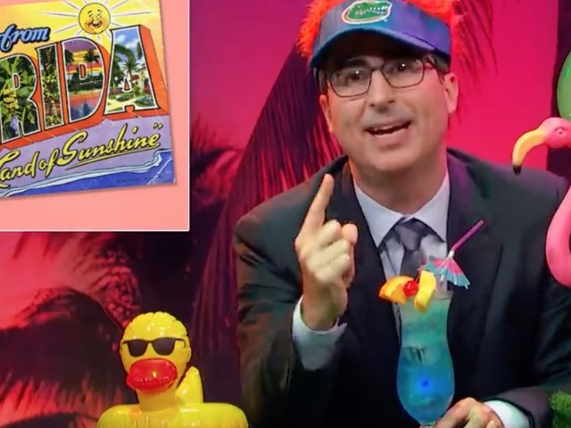 John Oliver Appeals To Florida In The Most Florida Way Possible