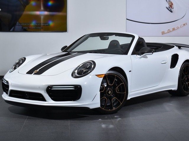 2019 Porsche 911--Turbo--S--Exclusive--Series