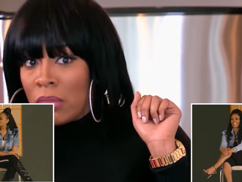 'That's Why She Got Her A– Taken Out': Mimi Faust and Rasheeda Throw Shade at K. Michelle After Watching 2013 'LHHATL' Confrontation