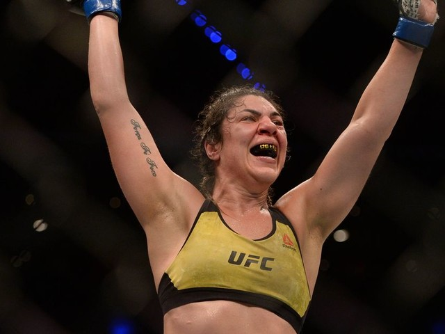 Bethe Correia says she was sick on the day of UFC Mexico