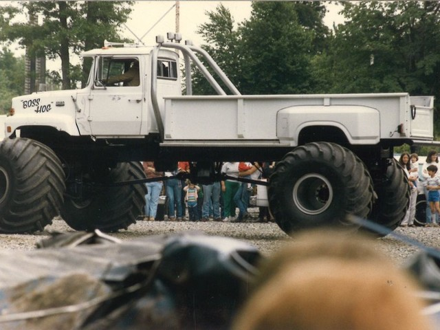 """When the """"Boss Hog"""" monster truck came to town!"""