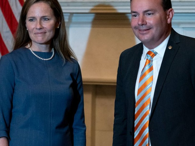 Mike Lee, furious, calls on fellow senator to take back the 'worst' thing any Democrat has said about Amy Coney Barrett