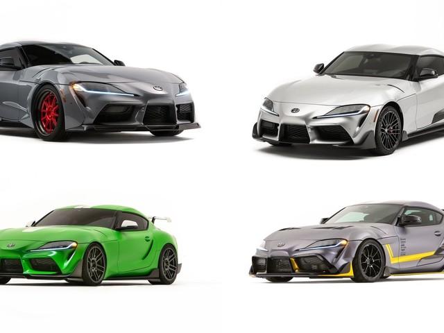 2020 Toyota Supra lineup for SEMA 2019