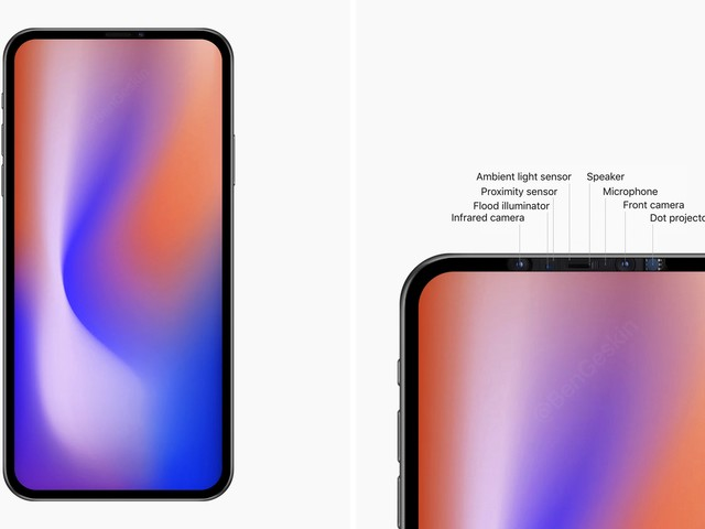 Rumor: Apple Has Prototyped a 6.7-Inch iPhone Without a Notch, Face ID Housed in Upper Bezel Instead