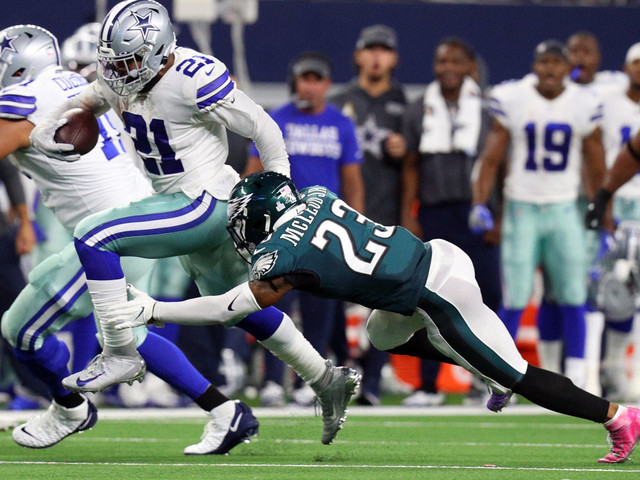 Cowboys crush Eagles, stop bleeding for at least a week