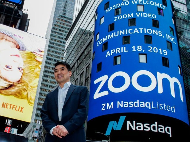 Zoom nearly reaches $16 billion in value after first day of trading