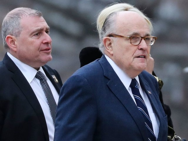 Rudy Giuliani has been meeting with former Ukrainian officials in Europe to combat impeachment narrative
