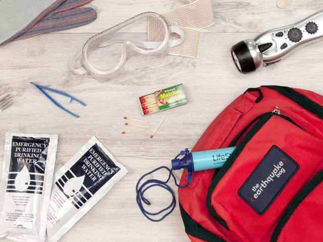 How to prepare for an earthquake and assemble a bugout bag