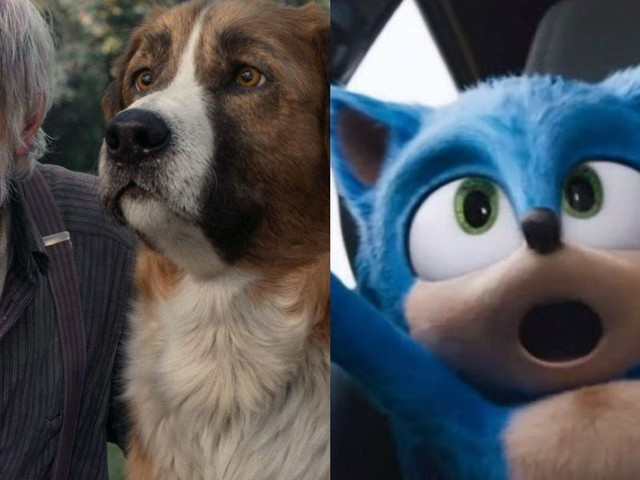 'Sonic the Hedgehog' edges out 'The Call of the Wild' for 1st place at the weekend box office