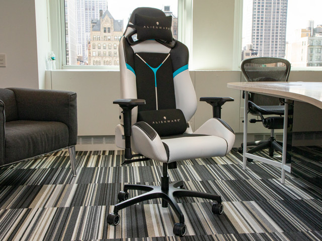 Alienware S5000 Gaming Chair Review