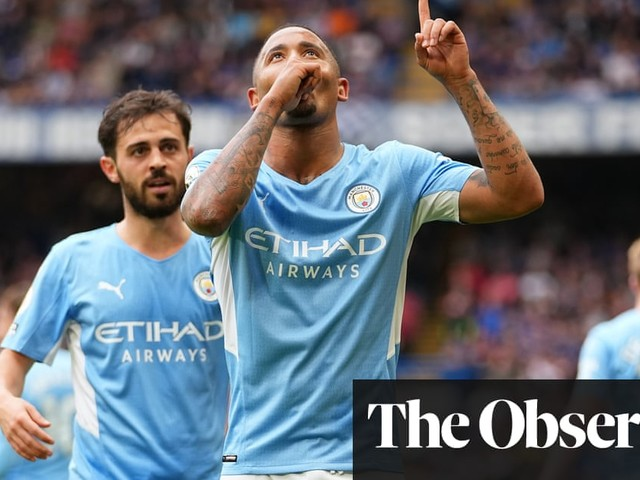 Gabriel Jesus's deflected strike seals Manchester City win over Chelsea