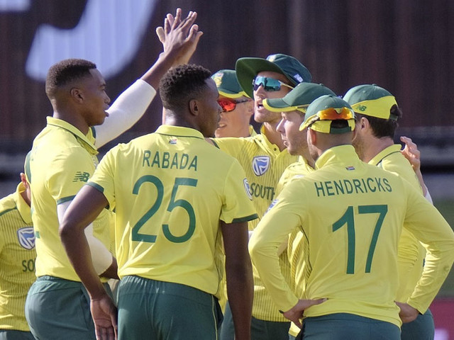 South Africa Bowlers Hold Nerve To Level Australia T20I Series