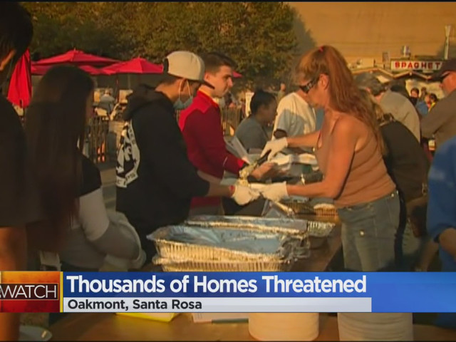 Oakmont Residents Wait For Mercy In Long Wildfire Fight