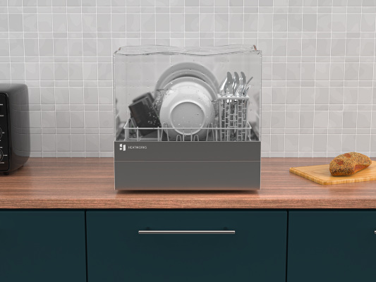 Heatworks opens pre-orders for its plumbing-free countertop dishwasher