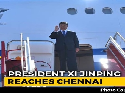 """""""Welcome To India,"""" Tweets PM Modi As Xi Arrives In Chennai"""
