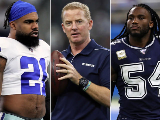 Cowboys' Ezekiel Elliott, Jaylon Smith: It will be weird without Jason Garrett