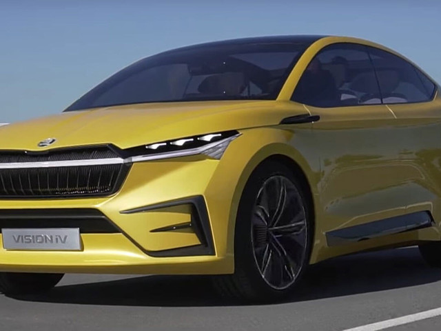 Skoda Vision iV: What's It Like To Drive The Electric SUV Concept?