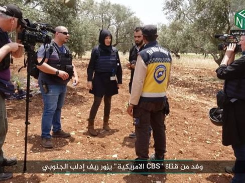 Russia Slams CBS News For Cooperating With Syrian Al-Qaeda In Idlib