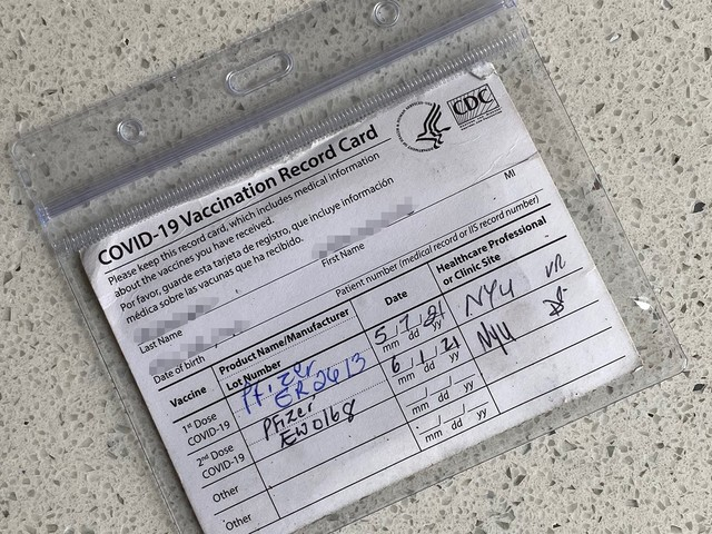 People Can't Get Enough Of This Bestselling Vaccine Card Protector (& TBH, Same)