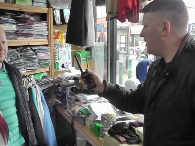 Britain First 'Invades' Birmingham Islamic Bookshop