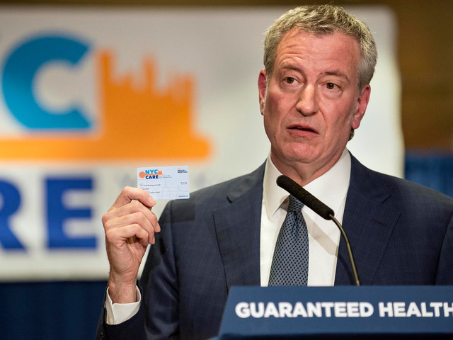 De Blasio's health-care problems start long before he tries for 'universal'