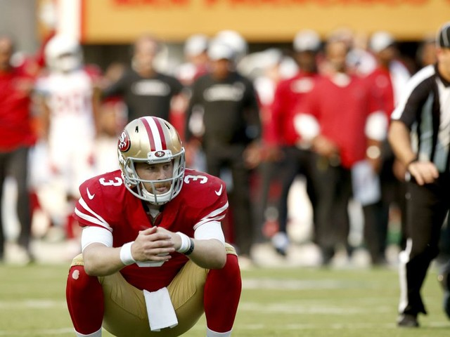 Follow the most miserable moments of 49ers-Packers