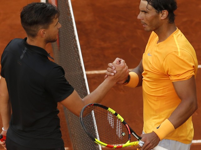 Rafael Nadal loses to Dominic Thiem in Madrid, first loss on clay in a year