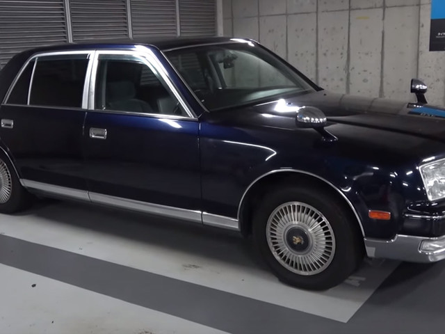 This V12-Powered Toyota Century Sounds Like A Supercar