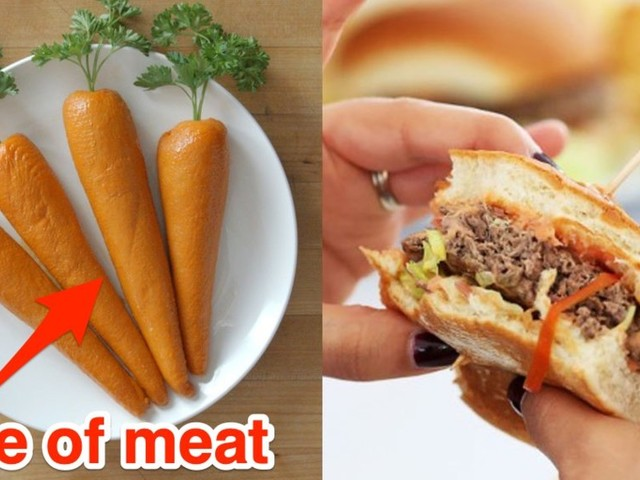 The Arby's 'megetable' carrot made out of turkey is bucking a major fast-food trend — and they could be on to something
