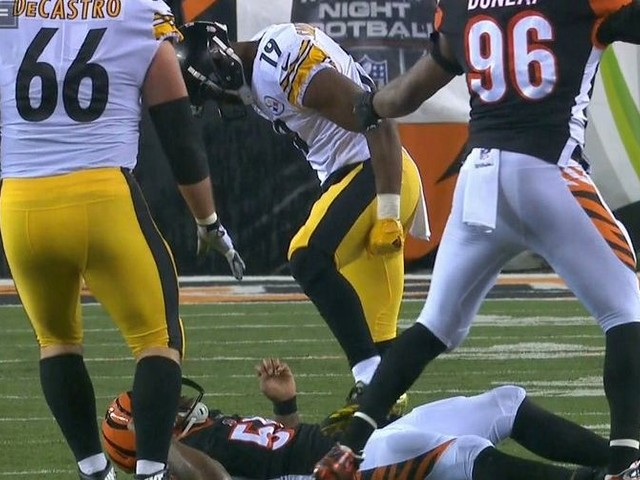 Why JuJu Smith-Schuster was suspended 1 game for his dangerous hit on Vontaze Burfict