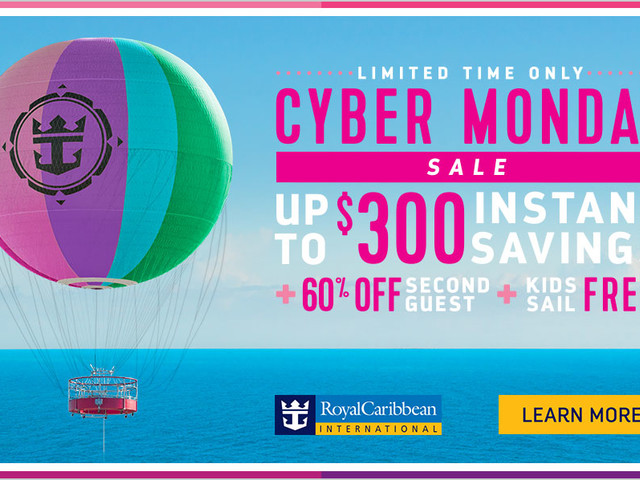 Royal Caribbean's Cyber Monday Sale offers up to $300 bonus instant savings