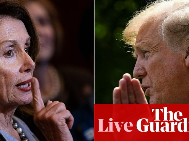 Nancy Pelosi expected to announce formal impeachment inquiry into Trump – live