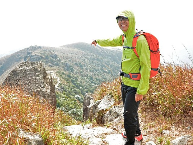 This man has climbed every mountain in Hong Kong