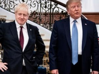 Leaders like UK's Johnson who wooed Trump face tricky reset