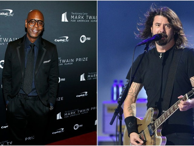 """Watch Dave Chappelle and Foo Fighters cover Radiohead's """"Creep"""""""