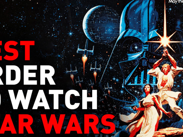 What is the best order to binge watch all nine 'Star Wars' movies?