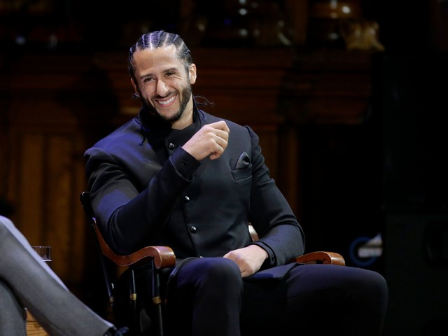 Colin Kaepernick receives prestigious honor for contributions to black history and culture