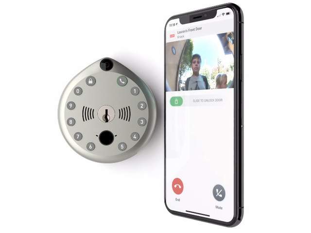 Why get a smart lock and a video doorbell when you can save $75 on a brilliant device that's both?