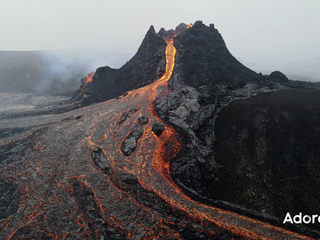 Short Film of Iceland's Eruption Views it as a Collective Human Experience