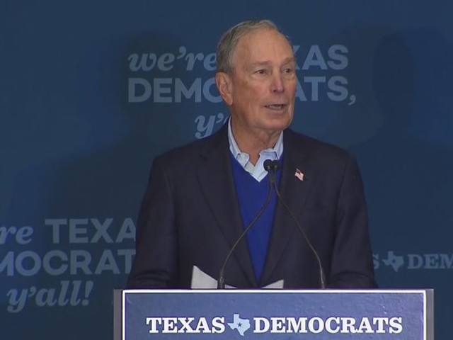 2020 Presidential Candidate Michael Bloomberg Visits North Texas, Aims To 'Turn Texas Blue'